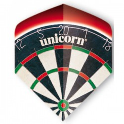 "Unicorn Core Big Wing ""Dartboard"" Flights"