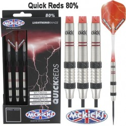 McKicks Quick Reds 80% Tungsten 22 gram