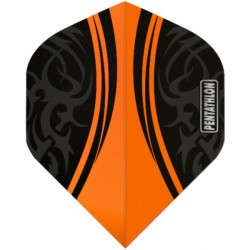 McKicks Pentathlon Std. Tribal Orange flights