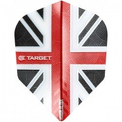 Target Vision Ultra UK Flag Std.6 Clear Red flights