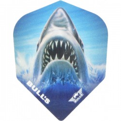 Bull's Powerflite D Std.6 Shark flights