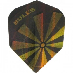 "Bull's Diamond Std.6 ""Dartboard Gold"" flights"