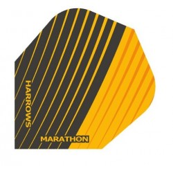 Harrows Marathon Black & Orange flights