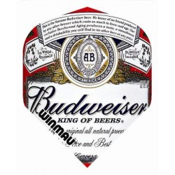 Winmau Budweiser Label flights