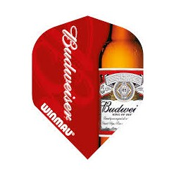 Winmau Budweiser Bottle Design flights