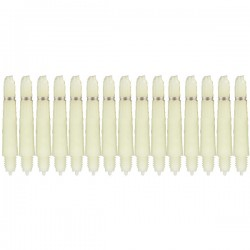 Bull's Nylon + ring X-short Natural 5-pack shafts