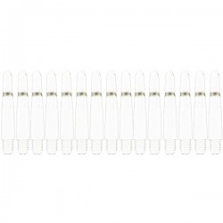 Bull's Nylon + ring X-short White 5-pack shafts