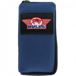 Bull's Basic Pak Medium Nylon Blue case