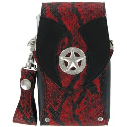 Bull's Hatch Pak Snakeskin Red Case